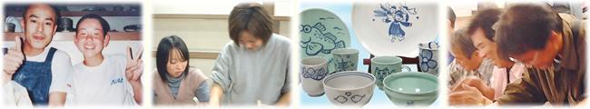 陶器に絵を描いて、オリジナルの陶器を作りませんか?