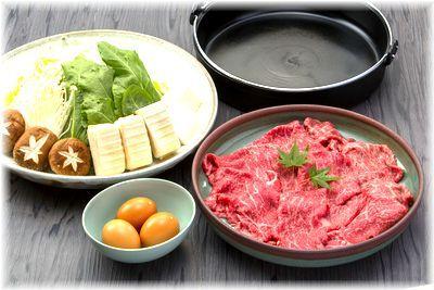近江牛すき焼き大鍋