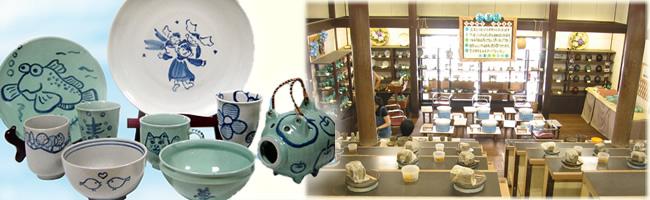 陶器に絵を描く教室です。お子様から年配の方までどなたでも気軽にお楽しみいただけます!